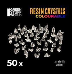 CLEAR Resin Crystals - Medium