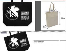 NERV Large Tote Bag Black