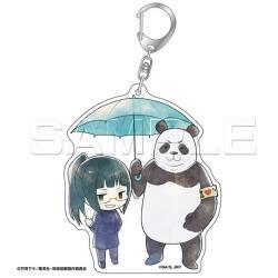 Acrylic Key Chain Zen'in Maki & Panda