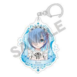 Acrylic Key Chain Rem Blue
