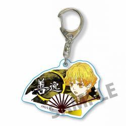 Fan Key Chain Zenitsu