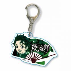 Fan Key Chain Tanjiro