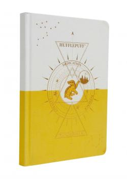 Hufflepuff Constellation Hardcover Ruled Journal