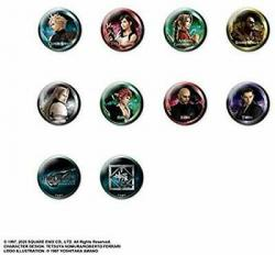 Final Fantasy VII Remake Can Badge Collection