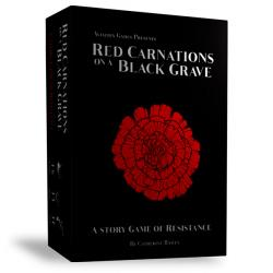 Red Carnations on a Black Grave - A Story Game of Resistance (Boxed Edition)