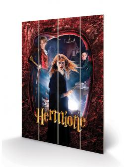 Hermione Wood Print