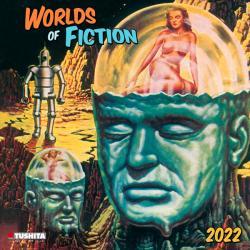 Worlds of Fiction 2022 Wall Calendar
