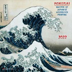 Hokusai Woodblock Painting 2022 Wall Calendar