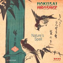 Hokusai/Hiroshige Nature's Spell  2022 Wall Calendar