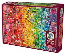 Rainbow (2000 bitar)