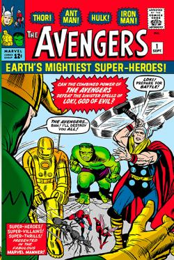 Mighty Marvel Masterworks: The Avengers Vol.1