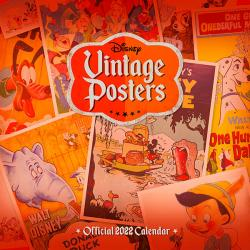 Disney Vintage Posters Official 2022 Calendar