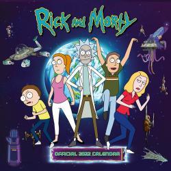 Rick and Morty 2022 Wall Calendar