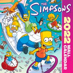 The Simpsons Wall Calendar 2022