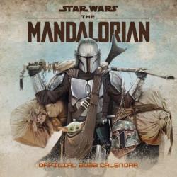 Star Wars The Mandalorian 2022 Wall Calendar