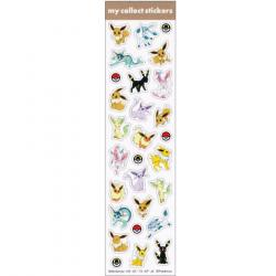 Stickers Eevee & Friends