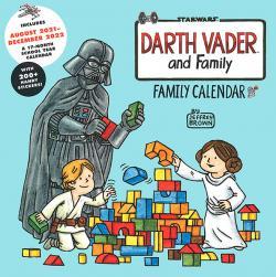 Darth Vader and Family Wall Calendar 2022