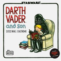 Darth Vader and Son Wall Calendar 2022
