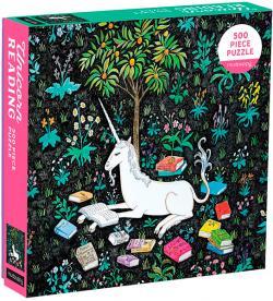 Unicorn Reading 500 Piece Puzzle