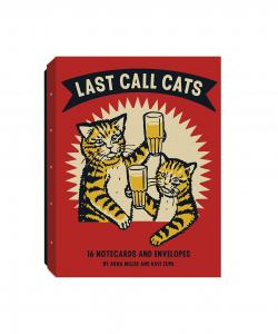 Last Call Cats Notecards and Envelopes