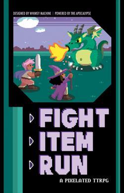 Fight Item Run RPG