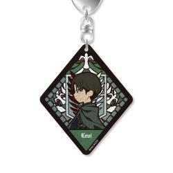Glitter Acrylic Key Chain Levi