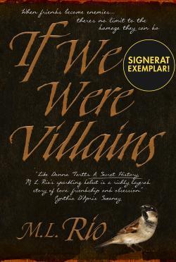 If We Were Villains (Signerad)