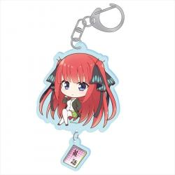 Puchichoko Acrylic Key Chain Nakano Nino Specialty Subject Ver.