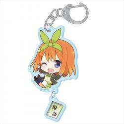 Puchichoko Acrylic Key Chain Nakano Yotsuba Specialty Subject Ver.