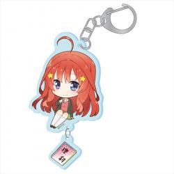 Puchichoko Acrylic Key Chain Nakano Itsuki Specialty Subject Ver.