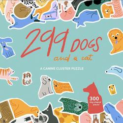 299 Dogs (and a cat) Cluster Puzzle