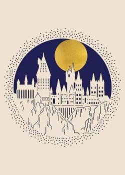 Laser Die-Cut Card Hogwarts
