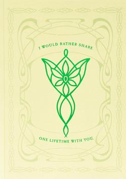 Pop-up Card Rivendell