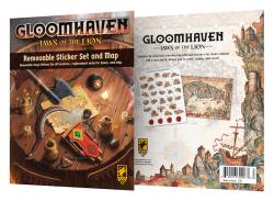 Gloomhaven Jaws of the Lion - Removable Sticker Set