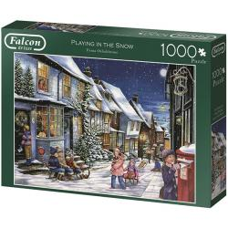 Playing In The Snow (1000 pcs)