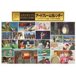 Studio Ghibli Art Frame Wall Calendar 2021 Japansk