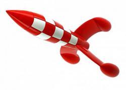 Samlarfigur - Raket 30cm