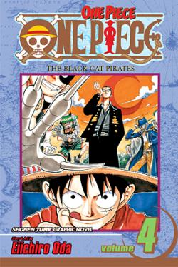 One Piece Vol 4: The Black Cat Pirates