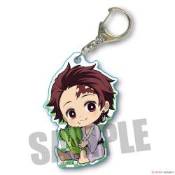 GyuGyutto Acrylic Key Chain Vol. 3 Kamado Tanjiro (Buds of Cod)
