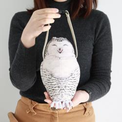 Bottle Case Snowy Owl