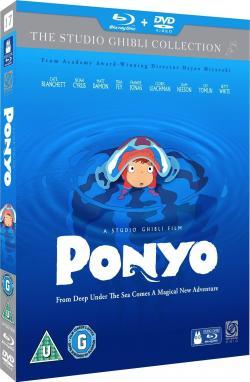 Ponyo on the Cliff by the Sea/Ponyo på klippan vid havet