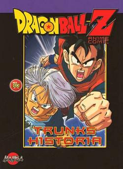 Dragonball Z del 10: Trunks historia