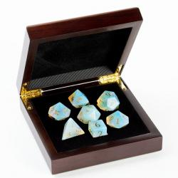 Opalite Synthetic Dice Set