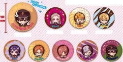 Big Random Kirakira Glitter Can Badge