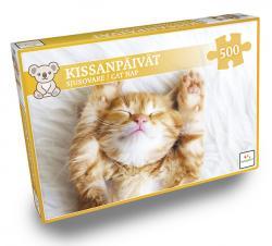 Cat Nap / Kissanpålvåt Pussel 500 bitar