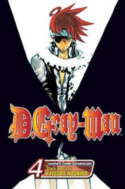 D.Gray-Man Vol 4