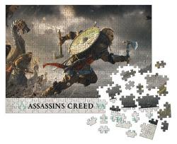 Assassins Creed Valhalla Jigsaw Puzzle Fortress Assault (1000 pc)