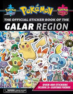 Official Pokémon Sticker Book of the Galar Region