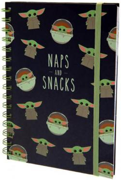 Wiro Notebook A5 Snacks And Naps Case