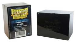 Black Card Box (Holds 100 Sleeved Cards)